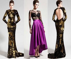 Вечерние платья Nadine Zeni осень-зима 2013-2014