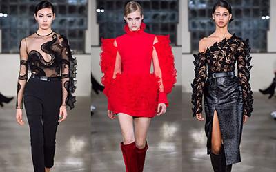 Женская одежда David Koma осень-зима 2019-2020
