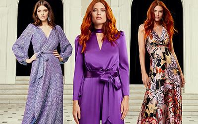 Вечерние платья и костюмы из коллекции Temperley London Pre-Fall 2020
