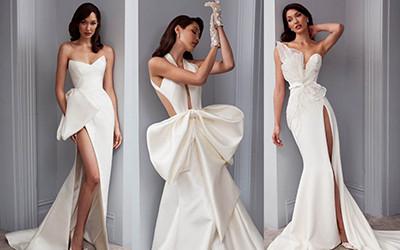 Безупречные свадебные платья Steven Khalil осень-зима 2020-2021