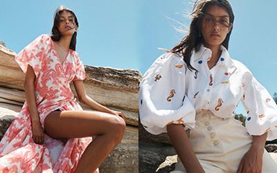 Летняя женская одежда из хлопка и льна Alemais 2021