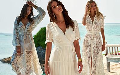 15 белых пляжных платьев для отпуска от дизайнера Melissa Odabash