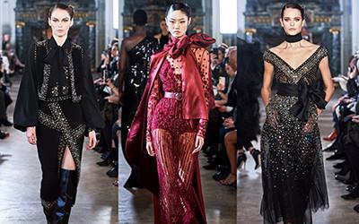 Вечерние платья и костюмы Elie Saab осень-зима 2019-2020