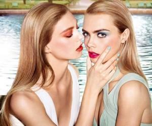Летняя коллекция макияжа YSL Bleus Lumiere 2014