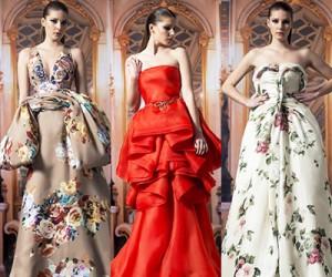 Вечерние платья Isabel Sanchis осень-зима 2014-2015