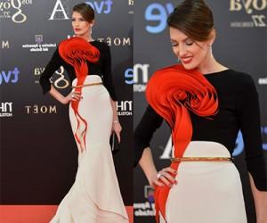 Знаменитости в вечерних платьях и костюмах от Stephane Rolland