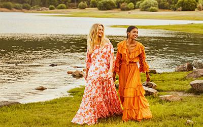 Модные пляжные платья Sundress весна-лето 2021