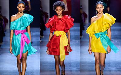Женская одежда Prabal Gurung осень-зима 2019-2020