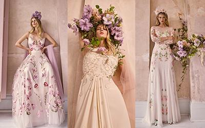 Коллекция свадебных платьев Temperley London 2021