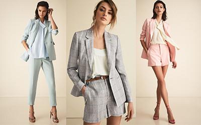 12 элегантных образов в брюках и шортах на весну 2019 от Reiss