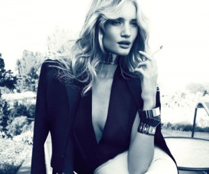 Rosie Huntington-Whiteley на страницах Vogue Spain