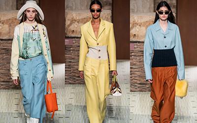 Женская одежда Lanvin осень-зима 2019-2020