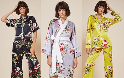 Красивая домашняя одежда для женщин 2019 от бренда Olivia von Halle
