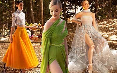 Вечерние платья и нарядные костюмы Georges Hobeika весна-лето 2020
