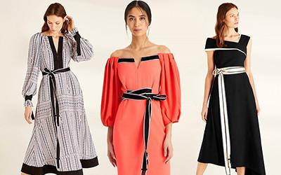 10 женственных и элегантных платьев на весну Amanda Wakeley