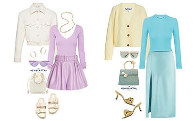 Модные сеты женской одежды весна-лето 2021