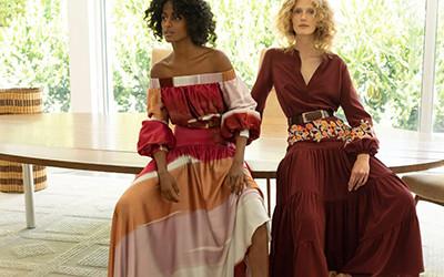 Красивая женская одежда Silvia Tcherassi Resort 2022