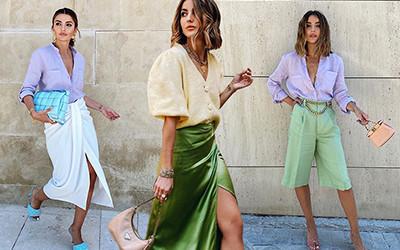 Летние образы испанской модницы Alexandra Pereira