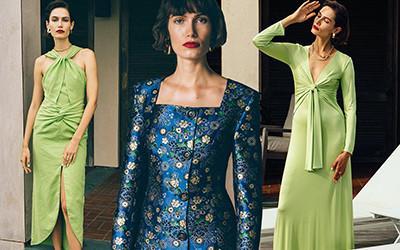 10 расслабленных женственных образов от любимого бренда Кортни Кардашьян и Дуа Липы