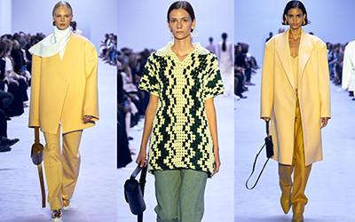 Модная женская одежда Jil Sander весна-лето 2022