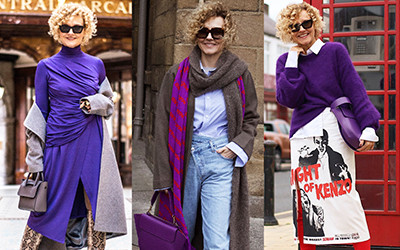 Мода для женщин за 50 от стильной англичанки Renia Jaz