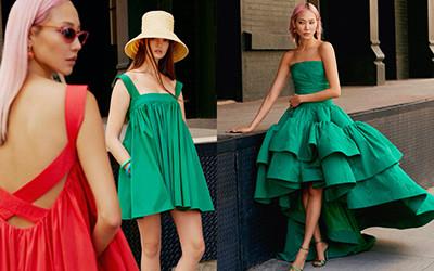 Красивая женская одежда Oscar de la Renta весна-лето 2022
