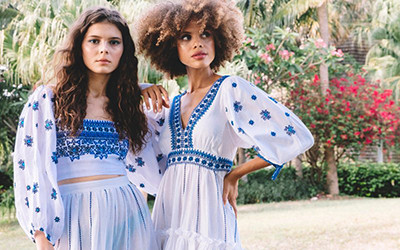 Пляжная женская одежда из натуральных тканей Cara Cara Resort 2022