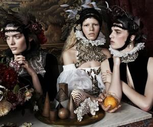 Vogue UK Декабрь 2013