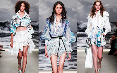 Женская одежда Zimmermann весна-лето 2020