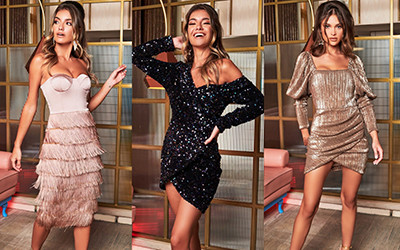 Нарядные платья для новогодней вечерники Lavish Alice 2020