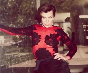 Milla Jovovich на страницах Tatler Russia