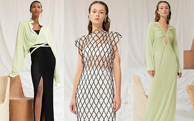 Женская одежда Sandra Mansour весна-лето 2021