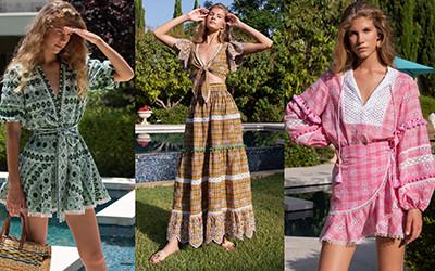 Красивая пляжная одежда из коллекции Liron Itzhakov Resort 2020