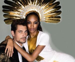 Знаменитые модели на страницах Vogue UK