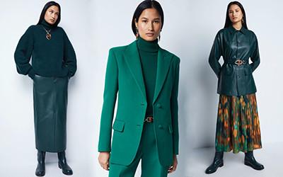 15 стильных женских образов Lafayette 148 New York осень 2021
