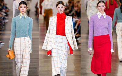 Женская одежда Victoria Beckham осень-зима 2019-2020