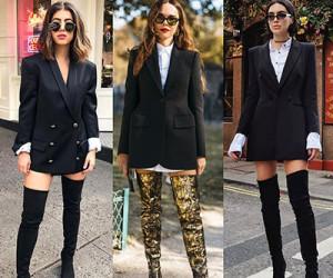 С чем носить ботфорты? Примеры на модных блогерах.
