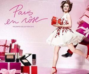 Рождественская коллекция макияжа Lancome Paris En Rose 2016-2017