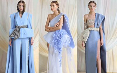 Роскошные вечерние платья Azzi & Osta Haute Couture весна-лето 2019