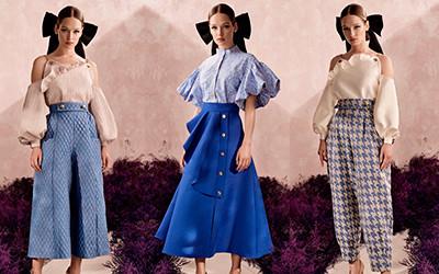 Прекрасные женственные образы в одежде Poca & Poca 2020
