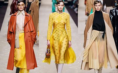 Женская одежда Fendi осень-зима 2019-2020
