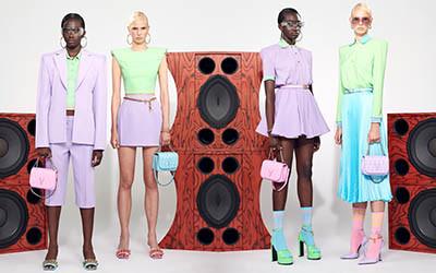 Женская одежда Versace Resort 2021