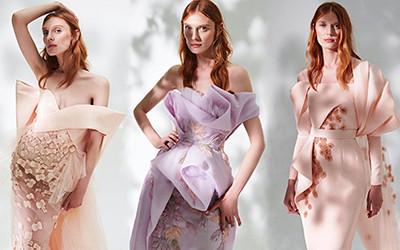 Шикарные вечерние платья и костюмы Azzi & Osta Haute Couture 2021