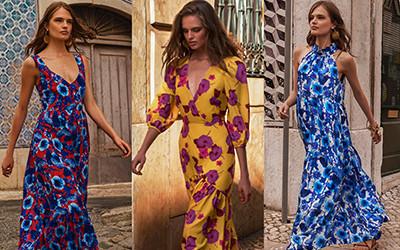 Красивые цветочные платья Borgo de Nor весна-лето 2019