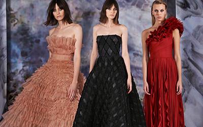 Женская одежда J. Mendel осень-зима 2019-2020