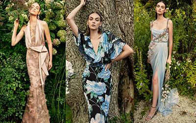 20 цветочных платьев на выпускной от бренда Marchesa