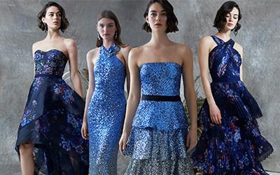 Вечерние и коктейльные платья Marchesa Notte Pre-Fall 2020