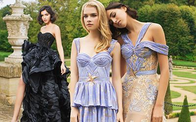 Роскошные вечерние платья Sophie Couture весна-лето 2020