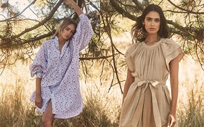 Летние платья из натуральных тканей Hannah Art Wear 2021