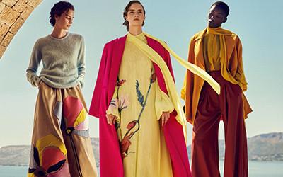 Красивая женская одежда Costarellos Resort 2022